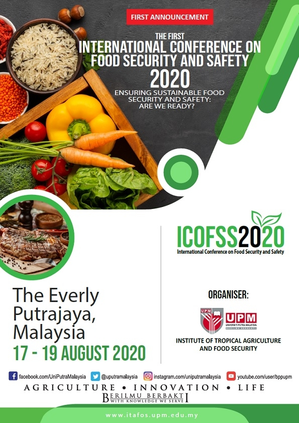 International Conference on Food Security and Safety (ICOFSS2020)